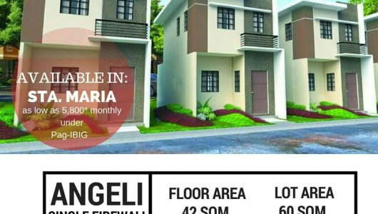 Bria Homes Sta  Maria Bulacan House and Lot available 3k monthly