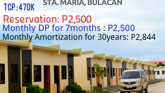 Bria Homes Sta  Maria Bulacan House and Lot available 3k